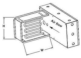 Sumbittal Heater Assembly Bold Lines